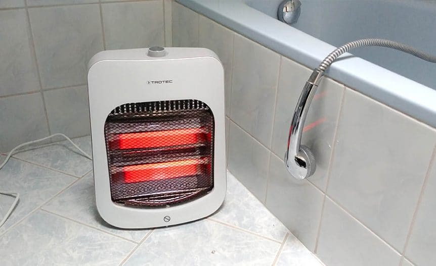 5 safety tips for using a space heater in a bathroom