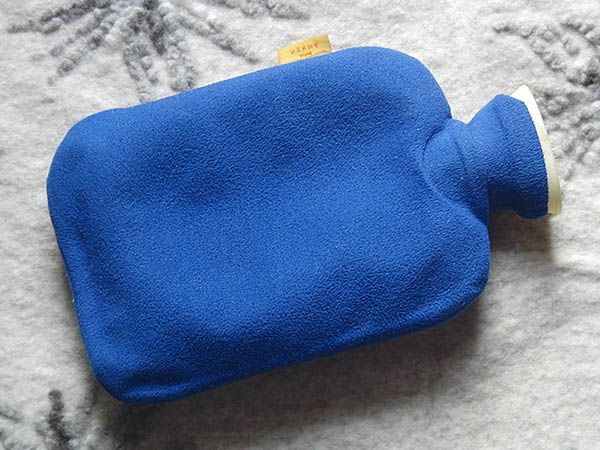 hot water bottle to replace leaving an oil heater on all night