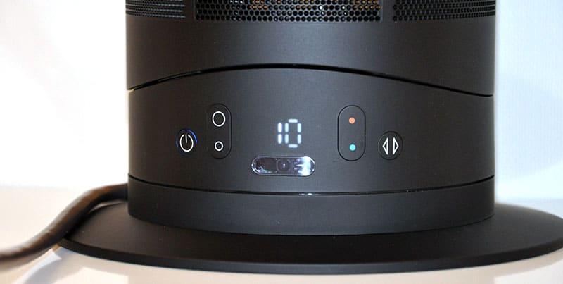 dyson heater thermostat