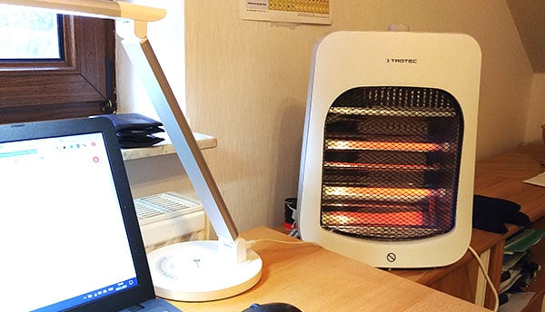 infrared heaters are one of the cheapest ways to heat a room