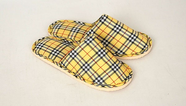 wear slippers to save money on heating bill